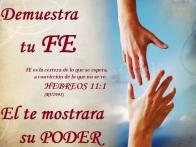 FE ES LA CERTEZA HEBREOS 11 -1